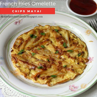 Tanzanian Chips Mayai (French Fries Omelette)