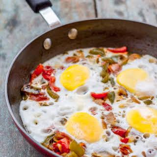Shakshuka - An Arabic Egg Delight.