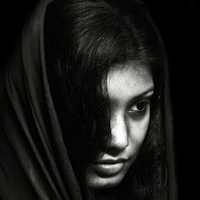 The girl by Avik Ghosh - People Portraits of Women