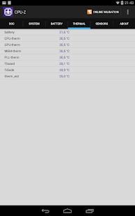 CPU-Z - screenshot thumbnail