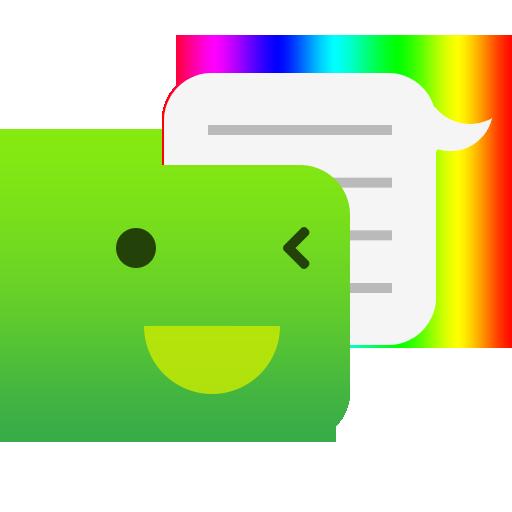 One Message 7 - Emoji, Flat 通訊 App LOGO-APP開箱王