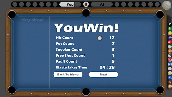8 Ball pool Free Screenshot