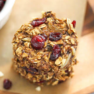 Cranberry and Almond Oatmeal Cookies.