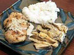 Chicken With Oyster Mushrooms Recipe