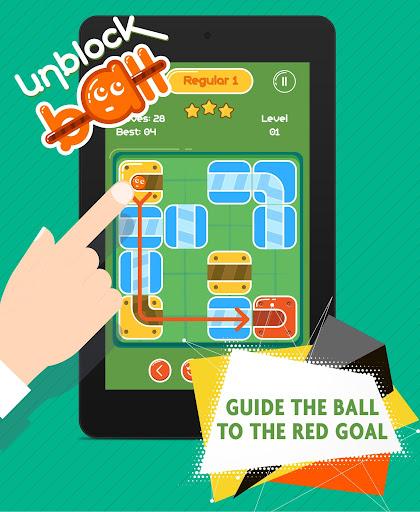 Unblock Ball - Slide Puzzle