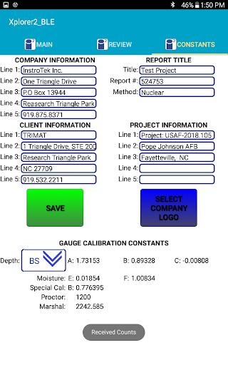 BLE Enabled Density Gauges by InstroTek Inc. ss2