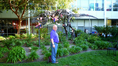 Photo: T-Rex on Google Campus made even more special by Tasha Bergson-Michaelson