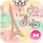 Cute Wallpaper I Love Paris Theme