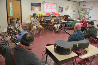 Photo: Beginners clawhammer banjo
