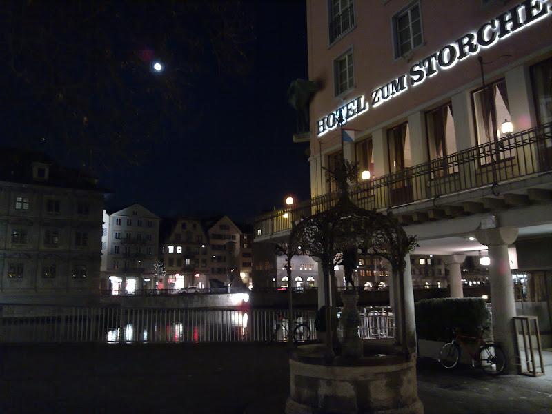 Photo: Zürich would really deserve a longer visit.