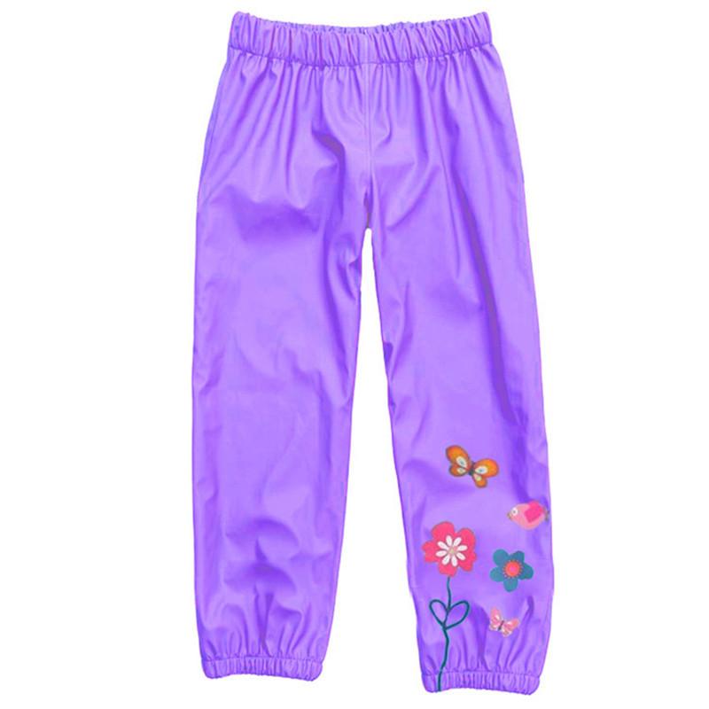 Spodnie ortalionowe dla dziewczynki