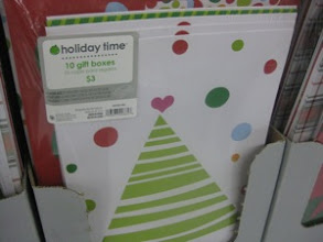 Photo: I'm always searching last minute for gift boxes. This is a great price for the 10-pack - and a cute design, too.