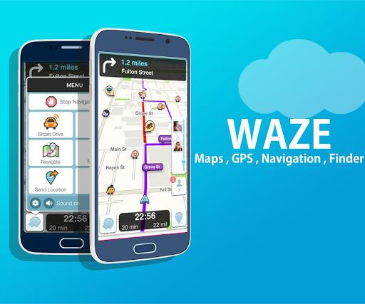 Navigation Waze Traffic , GPS , Finder , Maps app (apk) free