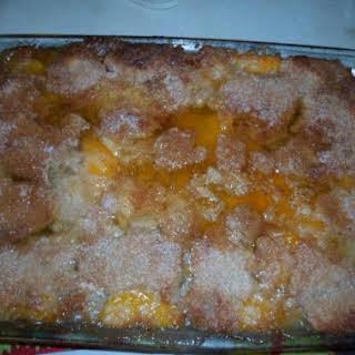 Peachy - Peach Cobbler.