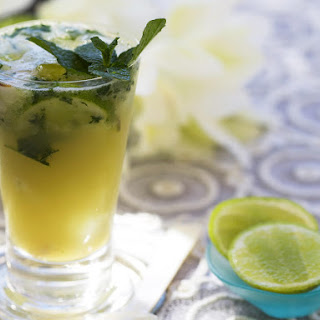 Lychee and Mint Mojito.