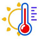 Room Temperature Checker - Thermometer icon