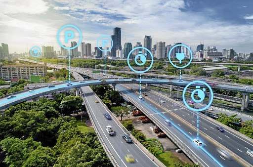 Volkswagen says its specialists are concerned not only with solutions for individual road users but also with the control possibilities of urban traffic planning.