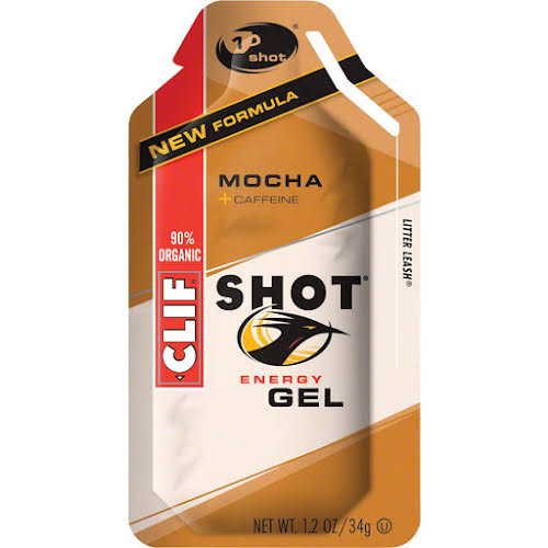 Clif Bar Shot Mocha with Caffeine 24-Pack