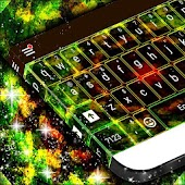 Abstract Kaleidoscope Keyboard