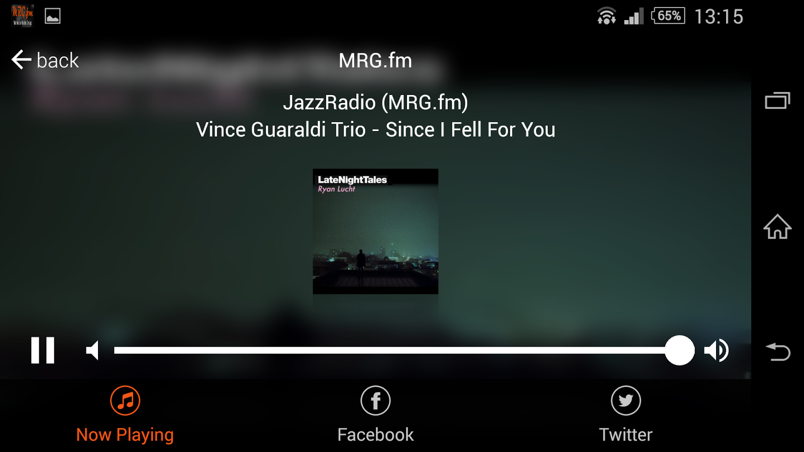 MRG.fm Radio- screenshot