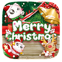 Merry Christmas Red Holiday icon
