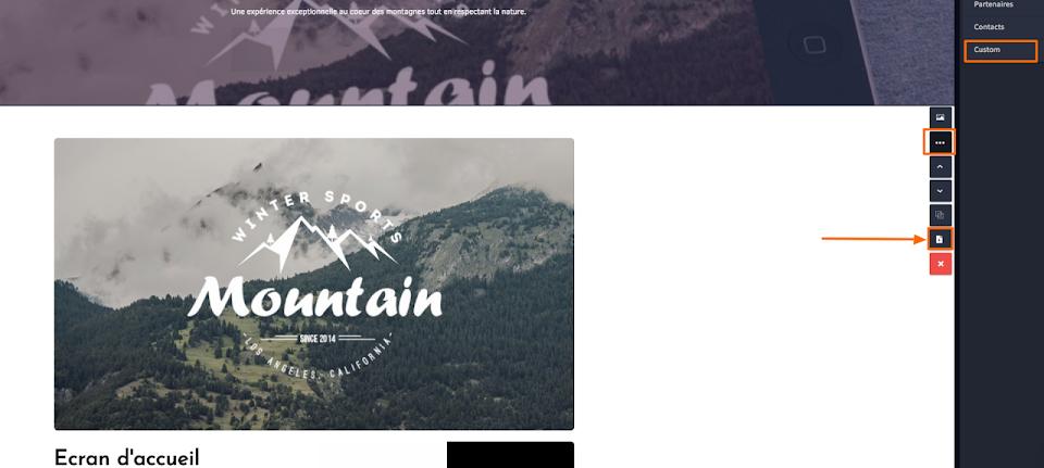 Application francaise de création de site en mode SaaS