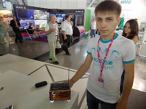 Photo: Ученик радиотехнического колледжа. Показал нам ролик про своего робота на Arduino.