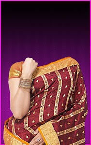 Pattu Saree Photo Suit screenshot 10