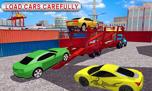 Truck Car Transport Trailer Games 1.5 screenshots 3