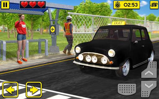 City Taxi Driving Sim 2020: Free Cab Driver Games modavailable screenshots 12