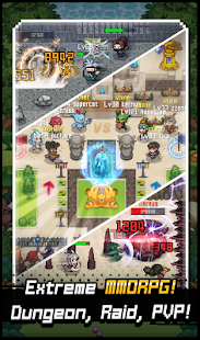 Grow Stone Online : 2d pixel MMORPG, RPG game - náhled