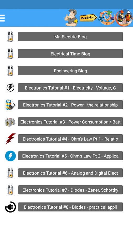 Learn electricity (All About It)- screenshot