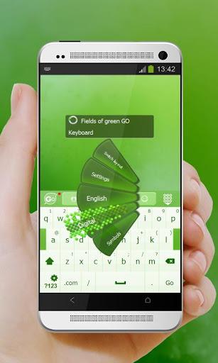 玩個人化App 绿色键盘领域免費 APP試玩