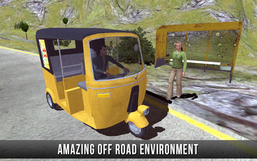 Mountain Modern Rickshaw Auto