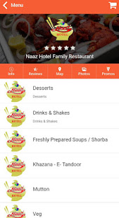 Download Naaz Restaurant For PC Windows and Mac apk screenshot 2