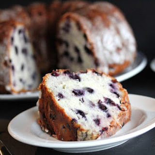 Lemon Blueberry Pound Cake