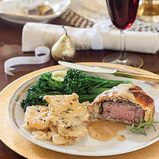 Beef Wellingtons with Sherry Cream Sauce Recipe