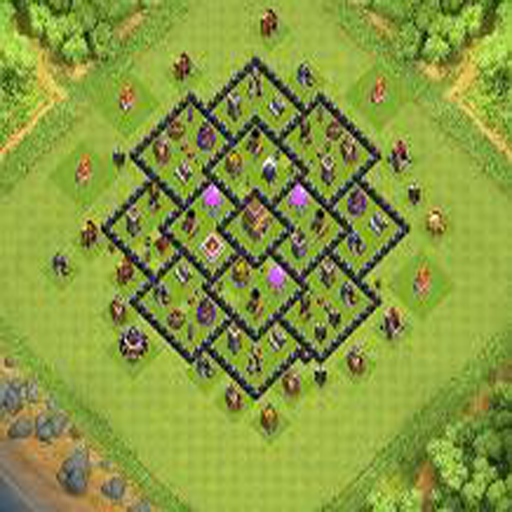 Town Hall 8 Farming Base Layouts - Android Apps on Google Play