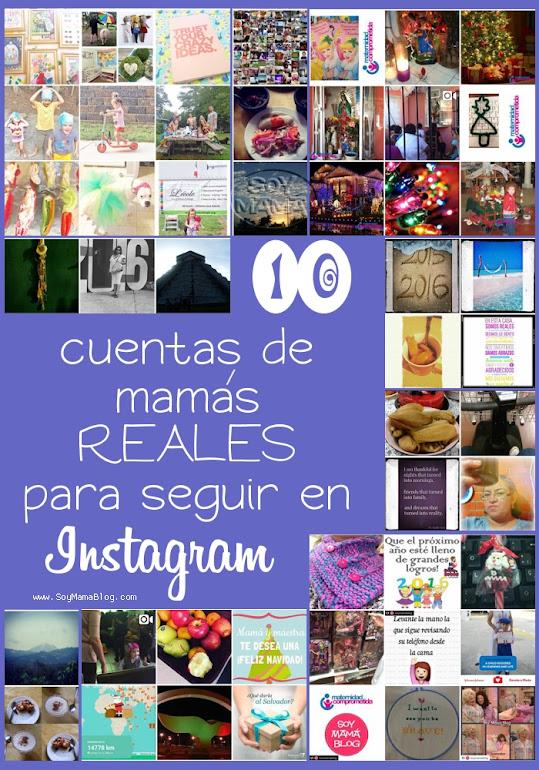 10 cuentas de mamás REALES para seguir en Instagram por Soy Mamá blog