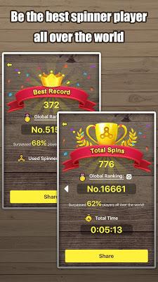 Fidget Hand Spinner - screenshot