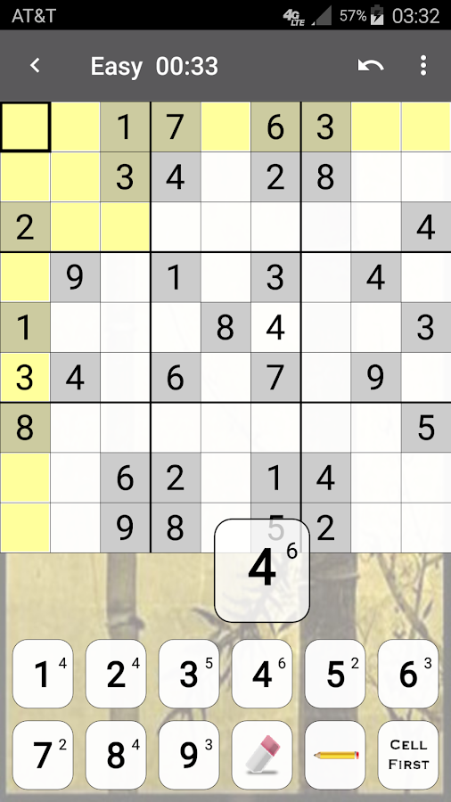 Screenshots of Sudoku for iPhone