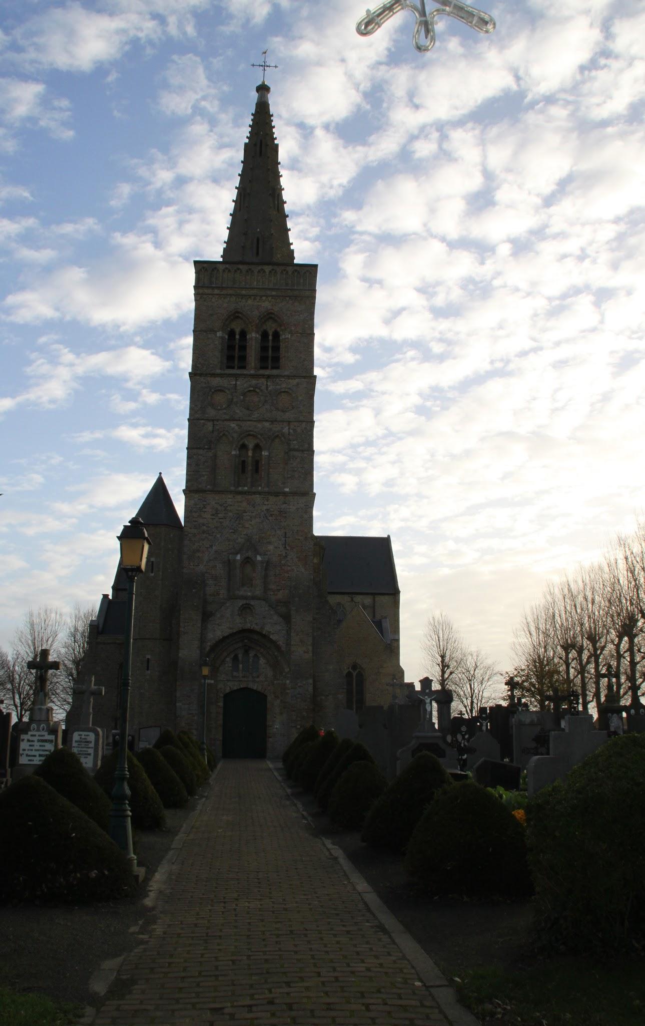 Photo: De Willibrordus kerk van Wulpen