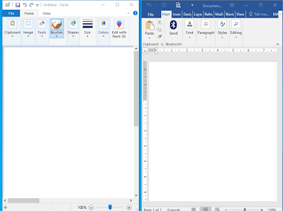 Side by Side Windows7