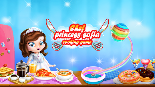 👩🍳 Princess sofia : Cooking Games for Girls App Latest Version  Download For Android 1