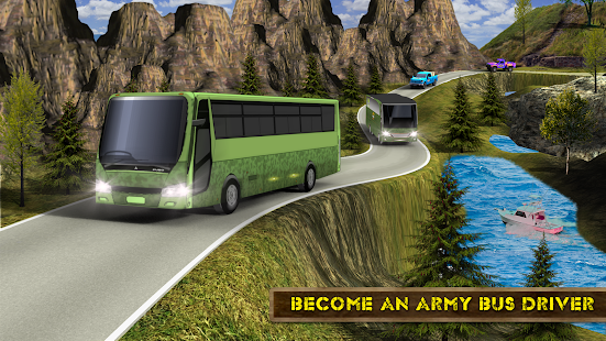 Real Army Bus Simulator 2018 – Transporter Games - náhled