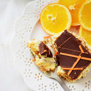 No-Bake Orange Eclair Cake