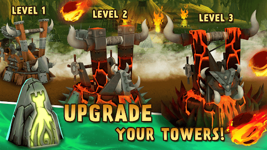Skull Towers – Defender a Torre: Jogos offline [Mod Money] 3