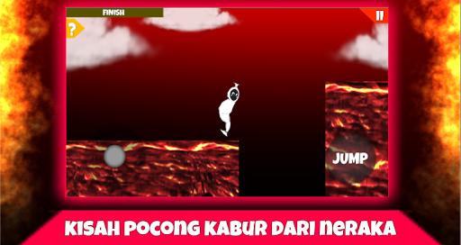 Télécharger Hantu Pocong Simulator - Kabur dari neraka APK MOD (Astuce) screenshots 5