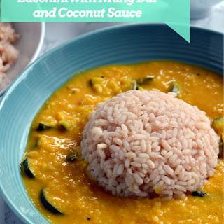 Zucchini Koottu / Zucchini Dal ~ Zucchini in Mung Dal and Coconut Sauce