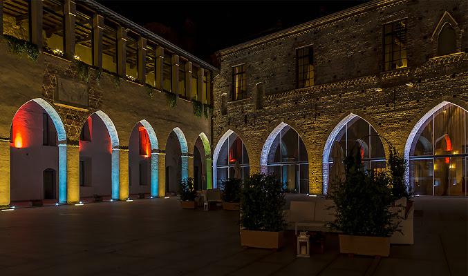 Al castello di Simone De Barba